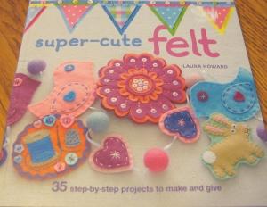 super cute felt book