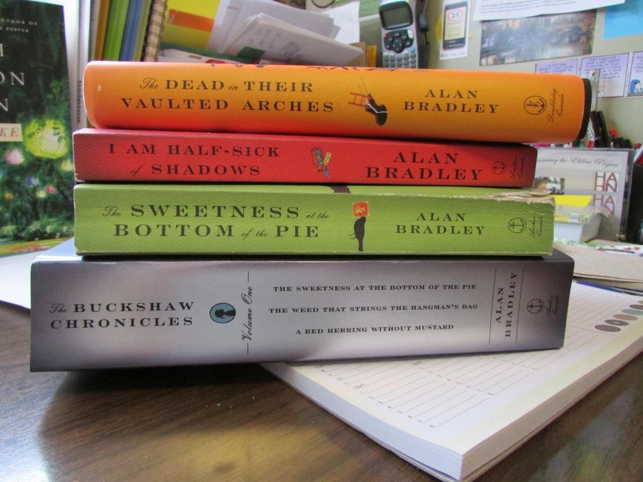 Alan Bradley books